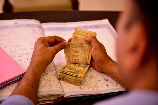dinheiro emprestado
